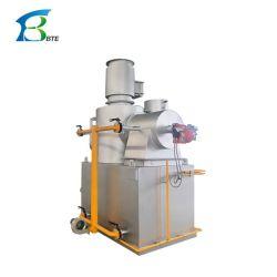 Incinérateur de déchets industriels, incinérateur de déchets solides, moins d'incinérateur de déchets liquides