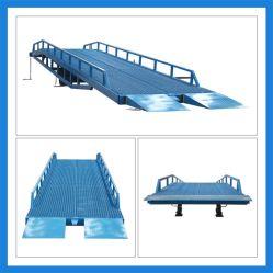 Rampa mobile dell'iarda di caricamento da vendere l'iarda idraulica Rampa delle rampe di caricamento della rampa del camion di caricamento delle rampe elettriche di alluminio pieghevoli del bacino