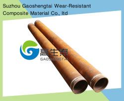 Hardfacing, superposición, el revestimiento, resistencia al desgaste, tubo de acero para la protección de desgaste