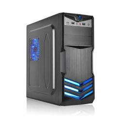 Neuer Computer-Kasten des Entwurfs-Aufsatz-Saphir-ATX (Blau V3)