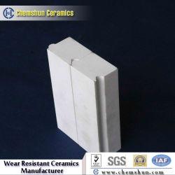 L'alumine doublure avec la rainure de tuiles de céramique et de la fente de l'usure résistant