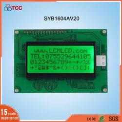 Monochromes 16 x 4-Stelliges LCD-Anzeigemodul, serielles 16-Poliges 1604-LCD-Display
