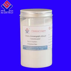 Gel de sílice para cromatografía de purificación Industrial, prueba de separación, purificación de medicina