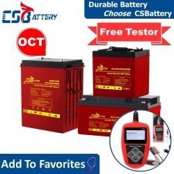 Csbattery 12V 100ah/150ah/200ah Tief-Schleife Gel-nachladbare Speicherbatterie für Solar-/Inverter/Energie-Hilfsmittel/Elektrisch-Roller/Fahrrad/Vehicle/6V/Csb