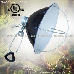 UL-Schelle-Lampe Repticare keramische Infrarotwärme-Emitter-Inkubator-Lampe mit Draht-Schutz