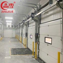 Sportello sezionale industriale isolato dall'alto con integrazione manuale elettrica