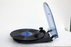 가장 새로운 소형 플라스틱 비닐 턴테이블 선수 PC 기록 LP 축음기 선수 기록