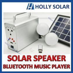 Beweglicher nachladbarer Bluetooth Musik-Spieler-Solarlautsprecher