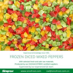 Meilleur prix,IQF dés de poivron vert,IQF dés de poivron rouge,IQF dés de poivron jaune,congelés des bandes de poivre vert,congelés Les bandes de poivron rouge,congelés Les bandes de poivron jaune