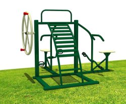 Apparatuur van de Geschiktheid van de Apparatuur van de Tuin van spelen de Openlucht