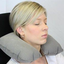 Cuello almohada inflable