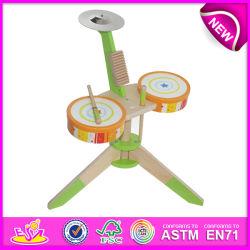 Bestes Mini Wooden Drum Toy für Kids, Novelty Hot Sale Drum Toys für Children, Music Toy Wooden Toy Drum Toy für Baby W07j025