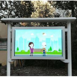 الصين تخفيضات ساخنة HD Floor Standing Digital Signage السعر 86 بوصة شاشة لمس للاستخدام خارج المركز التجاري/المحطة/سوبرماركت/في كل مكان