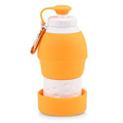 خارجيّة سفر سليكوون [سبورتس] [وتر بوتّل] [فولدبل] زجاجة غلاية قابل للانهيار