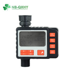 Pantalla LCD del controlador de rociadores de drenaje de agua de riego automático electrónico temporizador