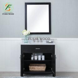 Vanità della stanza da bagno di legno solido della betulla di Morden