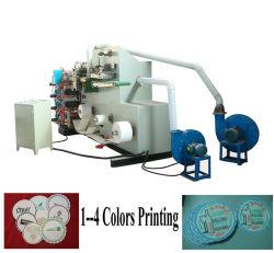 Полностью автоматическая 4 цветная бумага для печати чашка Coaster бумагоделательной машины