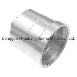 Prodotti di titanio dei pezzi meccanici del tubo su ordinazione della Cina e prodotti di titanio di giro di CNC