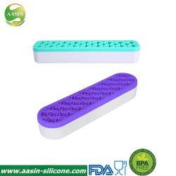 Силиконовый чехол для макияжа щетки организатор косметический коробка для хранения косметический салон красоты инструменты