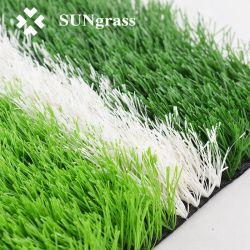 フットボール競技場のためのカーペットのサッカーの人工的なプラスチック草
