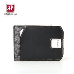 Настраиваемые PU Кожаное портмоне плоский дизайн карты Wallet