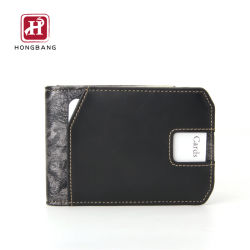 Aangepaste PU-lederen portemonnee Slim Design Card-portemonnee