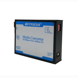 1310/1550 нм Fast Ethernet Fiber Converter одного волоконно-20км