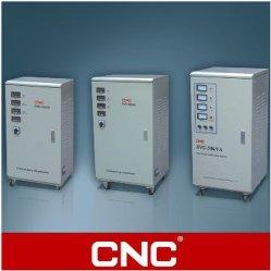 مثبت جهد تيار متردد تلقائي عالي الدقة ثلاثي الأطوار CNC (SVC/TNS)