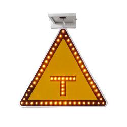 Gros en Chine LED clignotant signe de la circulation signe de la circulation avec panneau solaire
