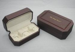 عطر [فرنش] [جفت بوإكس] خشبيّة مع داخلية بيضاء