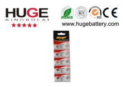 Pila de botón alcalinas de 1,5V /AG3/AG4/AG5/AG6/AG7