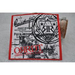 заводская цена полиэфирная ткань Germent этикетки