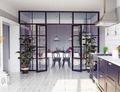 Тепловой Break двойные стекла на железной двери Франции запись безопасности металлические двери для дома