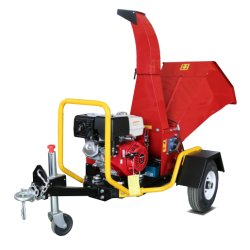 Chipper двигателя внутреннего сгорания хорошего качества деревянный