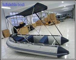 Militar de aluminio de 3,6 m inflable barco de pesca para la venta