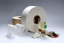 Carta da filtro per sacchetti per tè senza termosaldature