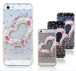 Flash Heart-Shaped Bling Étui pour iPhone 4/4S