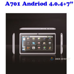 """Weißes A701 Andriod 4.0.4 Tabelle Tablette PC Computer des Computer-PC WiFi/3G 7 """" mit ODM/OEM"""