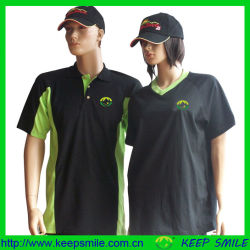 T Shirts를 위한 Custom Cotton Polyester Company Uniform Garment