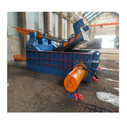 Cisailles de rebut de la ferraille presse presse à agglomérer machine horizontale Yg81 Métal hydrauliques des presses à balles