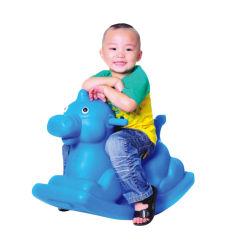 Kind-Tierliebhaberei-Pferden-Mitfahrer-Schwingpferden-Spielwaren