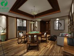 Indoor Decoratie met WPC voor Plafondmaterialen
