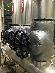 Destacável válvula globo isolamento térmico cobrir