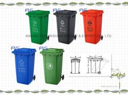 Venda a quente! ! 240L Eco-Friendly lixo plástico Bin/contentor