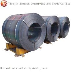 Bobina de RH HRC SS400 A36 Q235 Q345 Q195 laminados a quente da bobina de aço macio de carbono