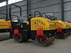 Promoción 1500 kg a 1,5 Ton viajar en el motor diésel Mini Rodillos compactadores Road Roller