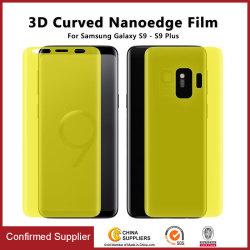 Full Screen Protector de ecrã TPU de cobertura para a Samsung Galaxy S9 S10