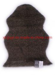 Tapis en acrylique personnalisé de gros format personnalisé tapis de fourrure artificielle de la peau de mouton