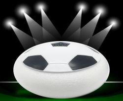 Passe o mouse Ball LED piscando bolas flutuantes de ar com portão de futebol Kids Sports Brinquedos suspensa amortecedores de espuma de futebol de hóquei Flutuante