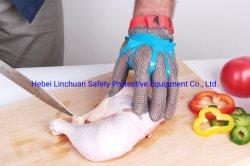 Guanti lavorati a maglia Tagliare-Resistenti sicuri della maglia del guanto elaborare di carne/del guanto/metallo di sicurezza della lama Chainmail del macellaio per le cucine